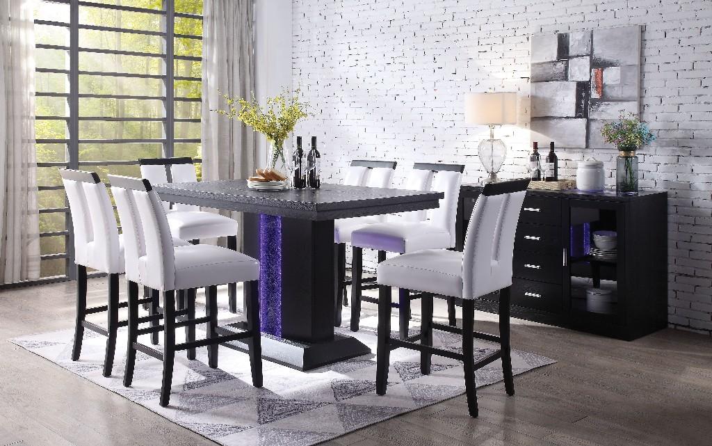 Acme Bernice Counter Height Table Black