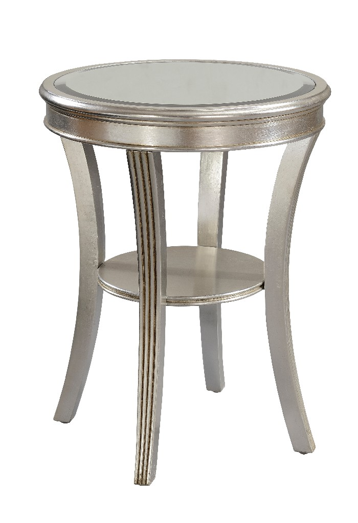 Accent Table in Kenney Silver Leaf - Coast to Coast 70803