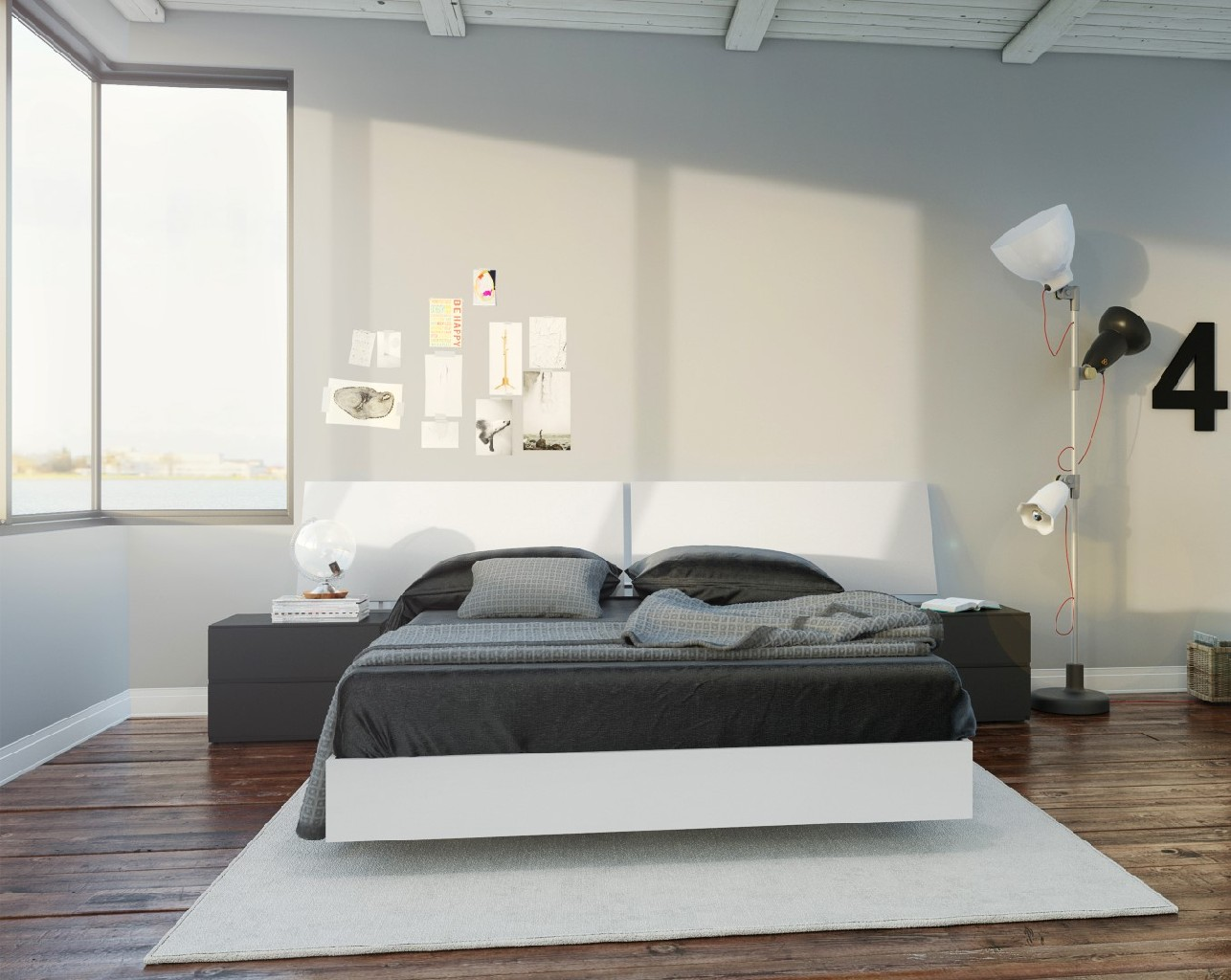 Nexera Furniture Bedroom Set White Photo