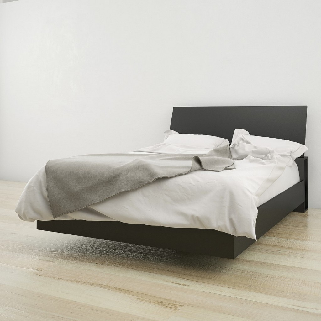 2 Piece Full Size Bedroom Set In Black - Nexera 400809