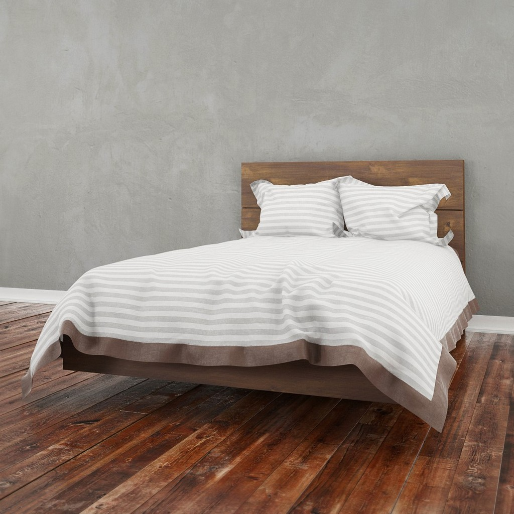 2 Piece Full Size Bedroom Set In Truffle - Nexera 400860