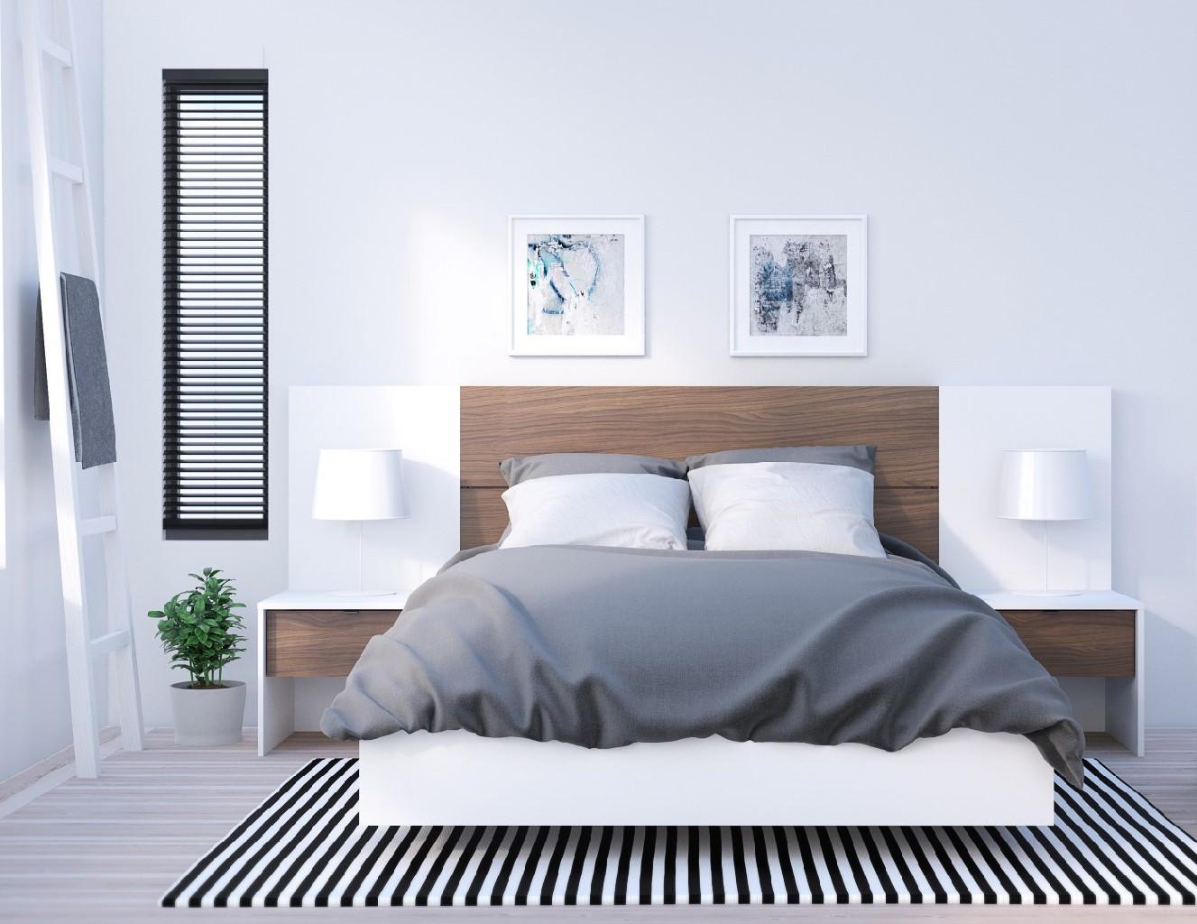 Nexera Furniture Bedroom Set Walnut Photo