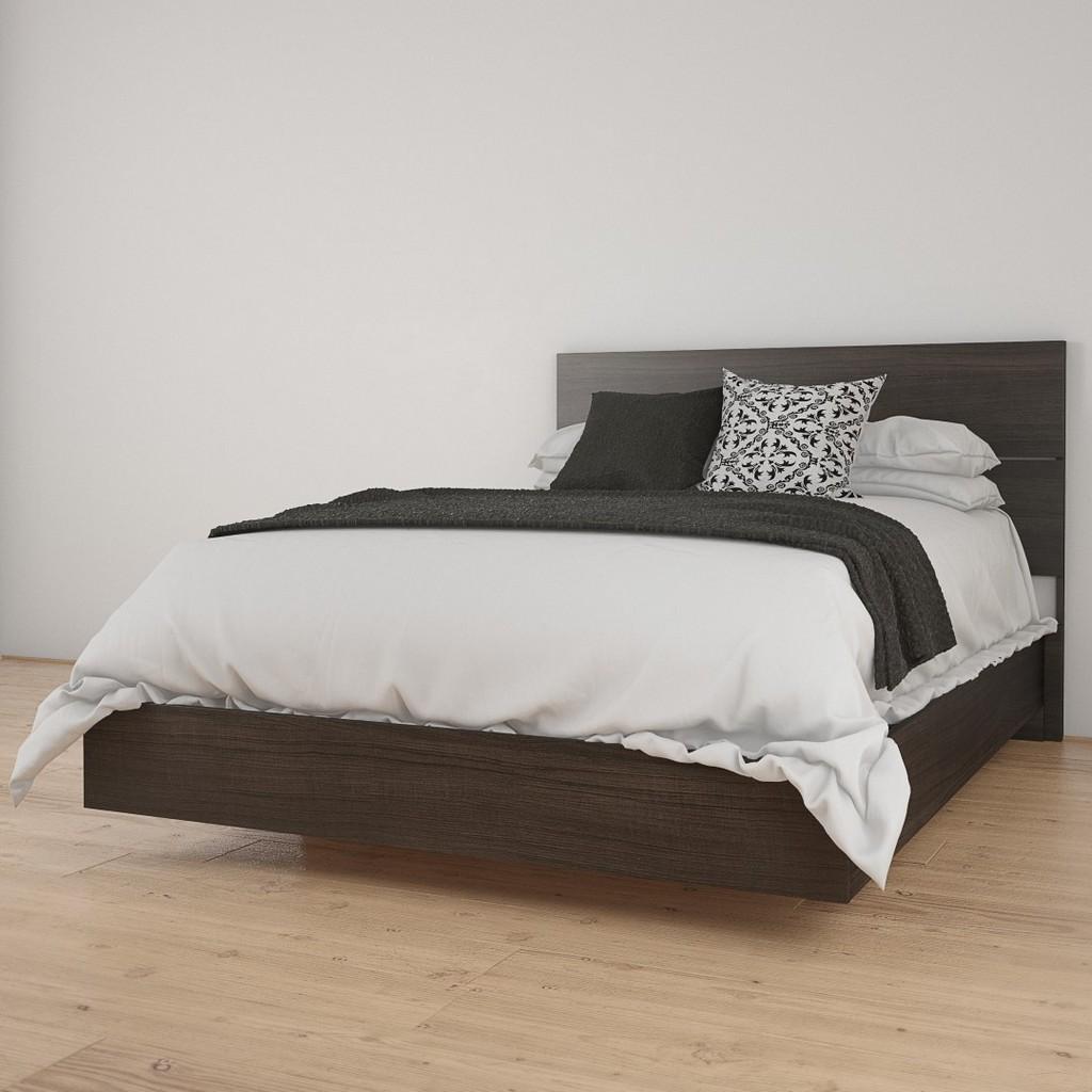 2 Piece Full Size Bedroom Set In Ebony - Nexera 400903