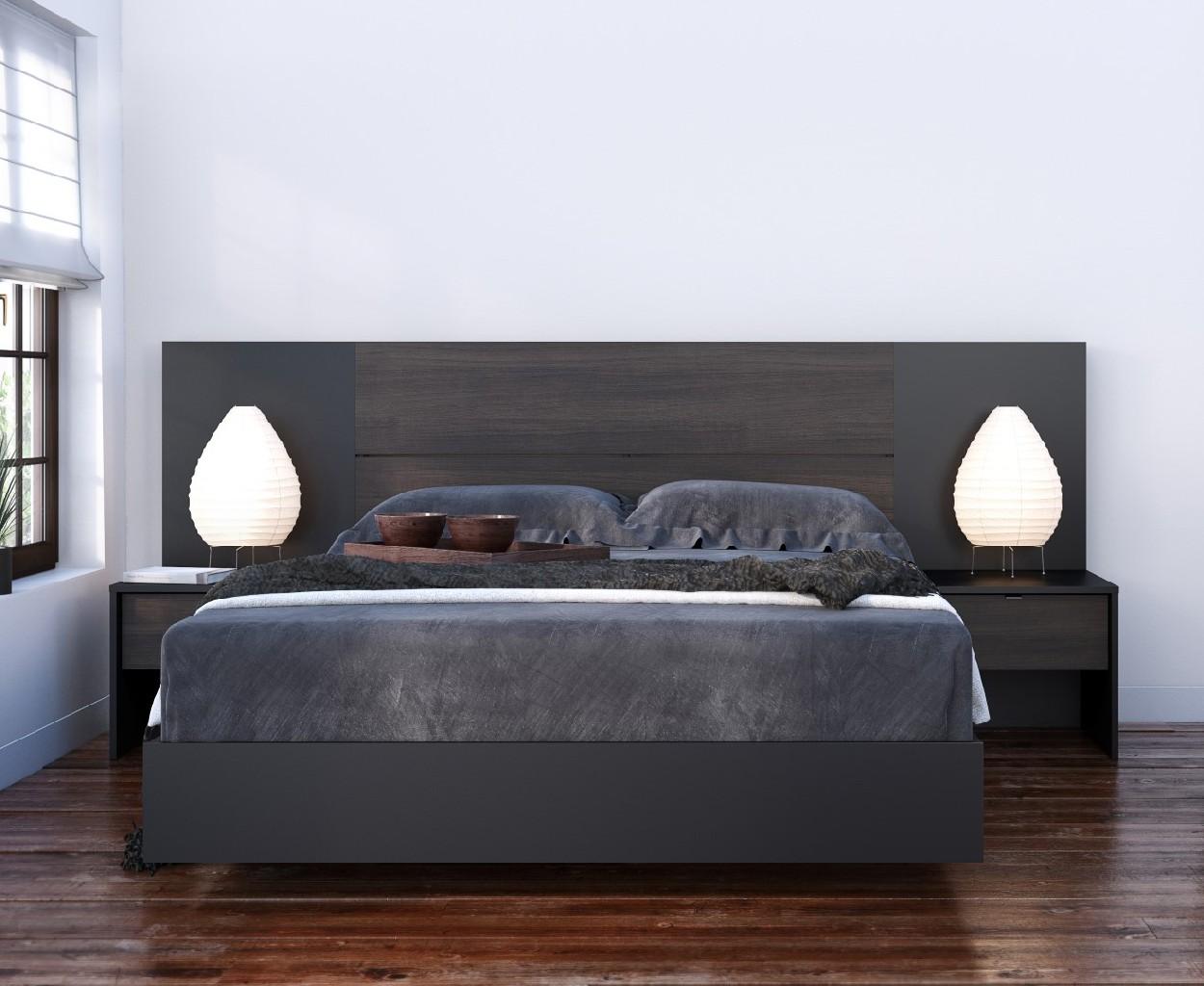 Nexera Furniture Bedroom Set Ebony Photo