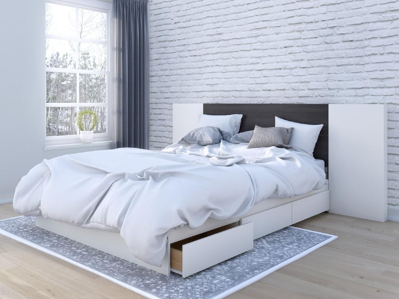 Nexera Furniture Queen Bedroom Set Ebony Photo