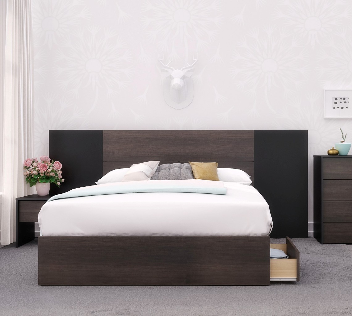 Nexera Bedroom Set Black