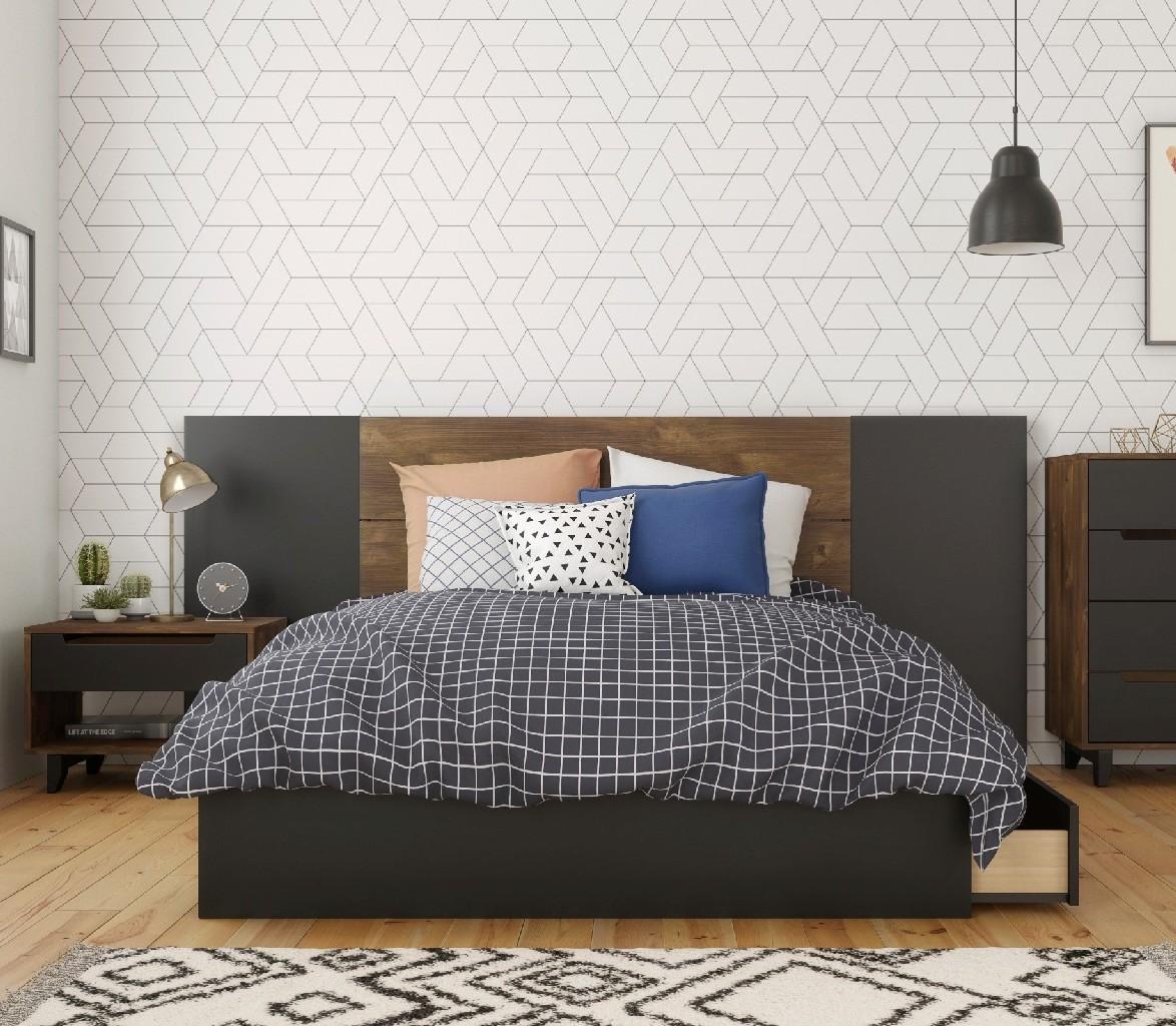 Nexera Furniture Bedroom Set Black Photo