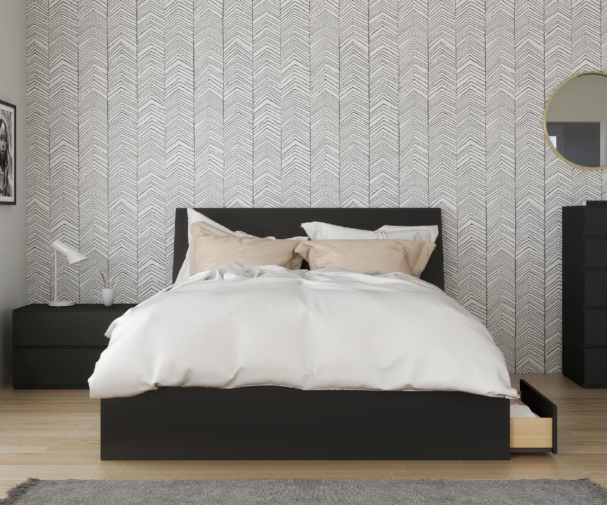 Nexera Furniture Queen Bedroom Set Black Photo