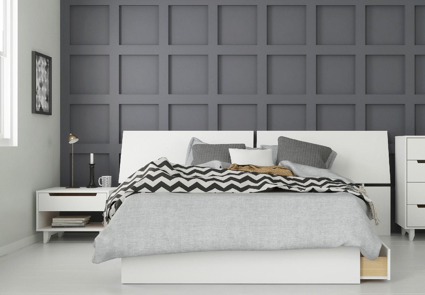 Nexera Bedroom Set White