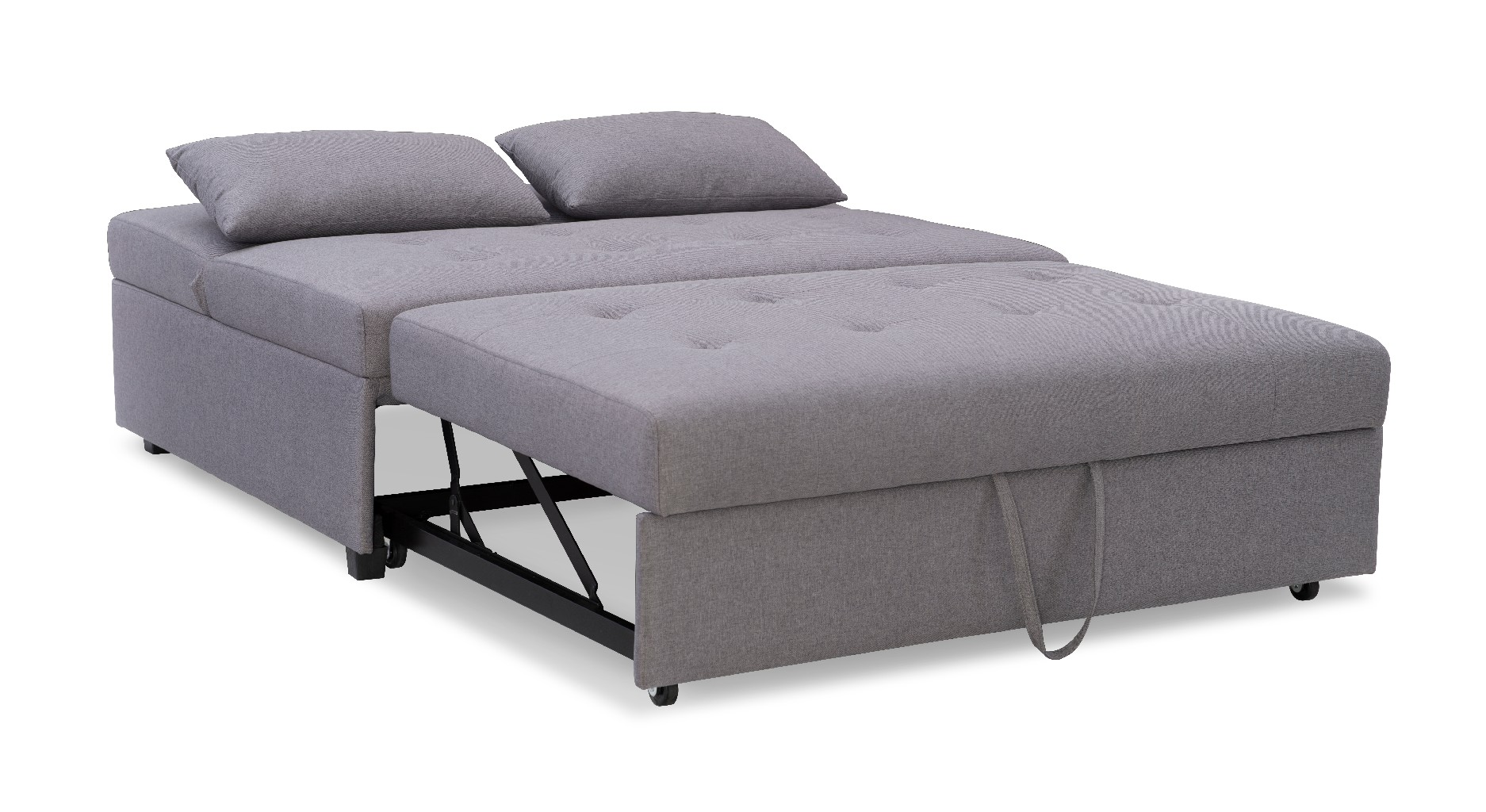 Powell Bed Grey