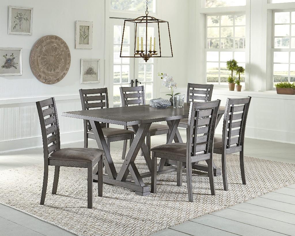 Fiji Rectangular Dining Table Gray