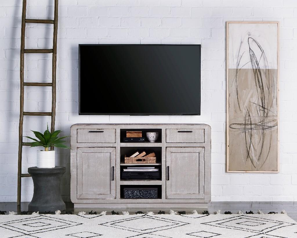 """Allure 54"""" Console in Gray Chalk - Progressive Furniture E766-54"""