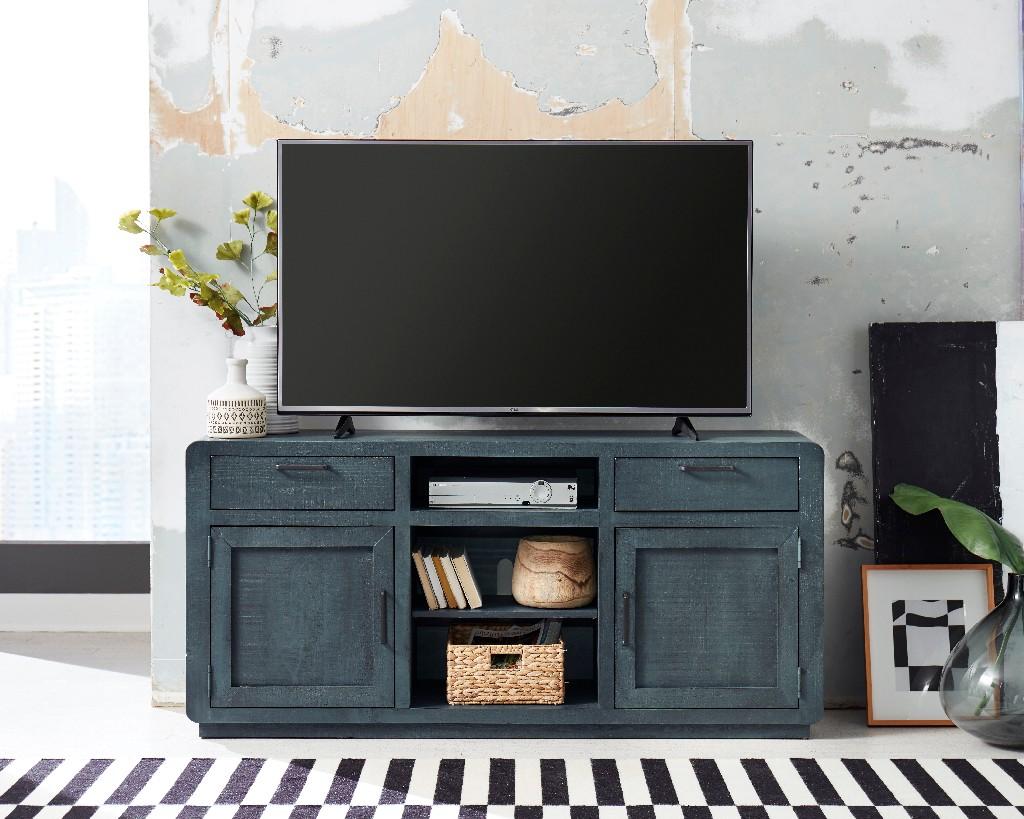 """Allure 64"""" Console in Blue Lagoon - Progressive Furniture E767-64"""