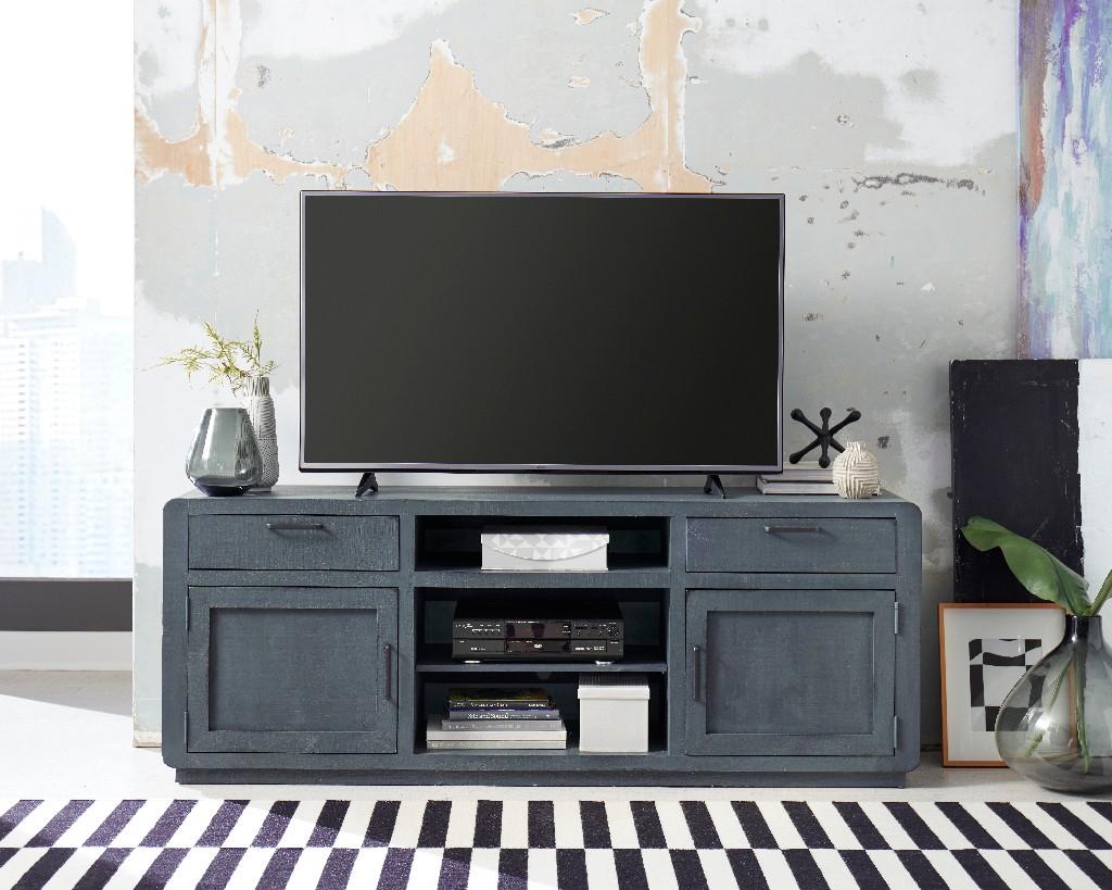 """Allure 74"""" Console in Blue Lagoon - Progressive Furniture E767-74"""