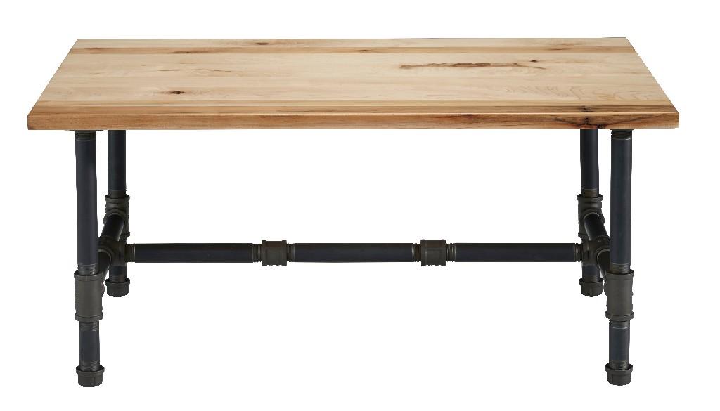 Aspen Coffee Table in Natural Rustic Maple - Progressive Furniture I150-01