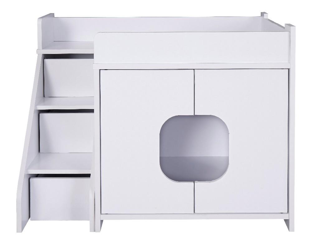Progressive Furniture Peeta Pet House, White -  I600-40