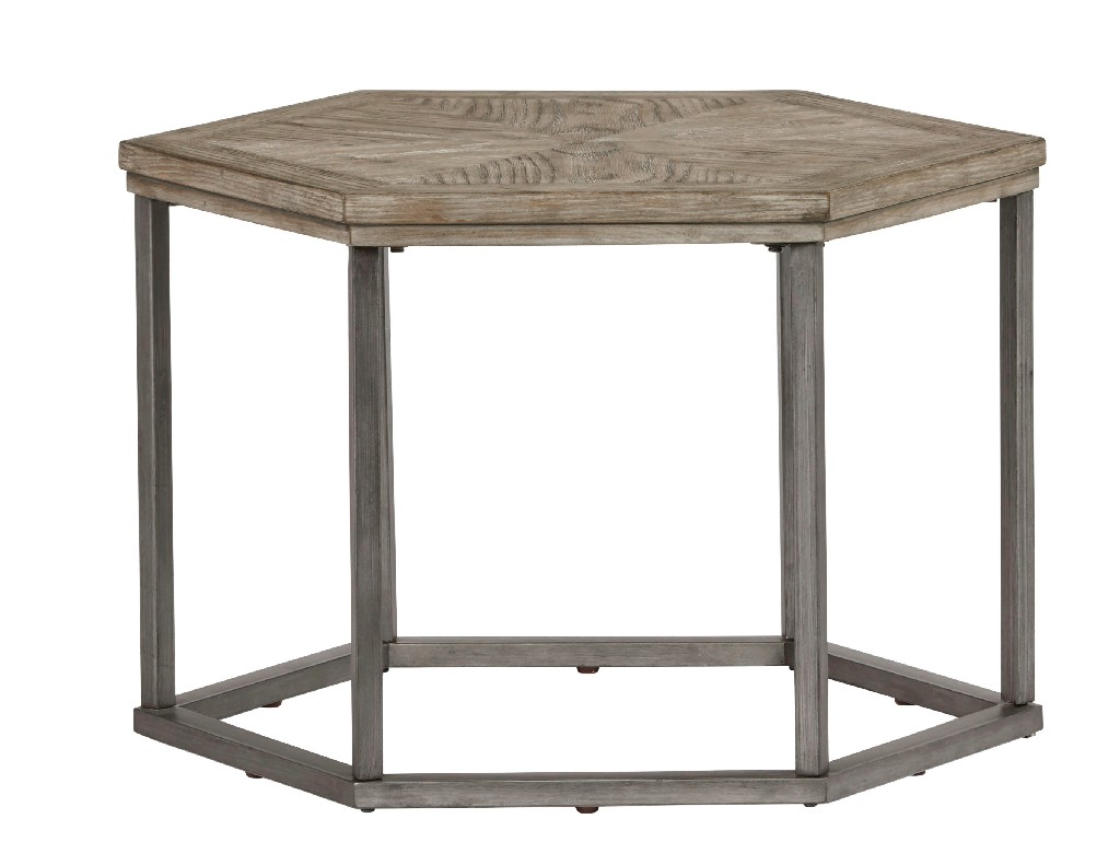 Adison Cove Hexagon Bunching Cocktail Table in Ash Blonde - Progressive Furniture T379-02