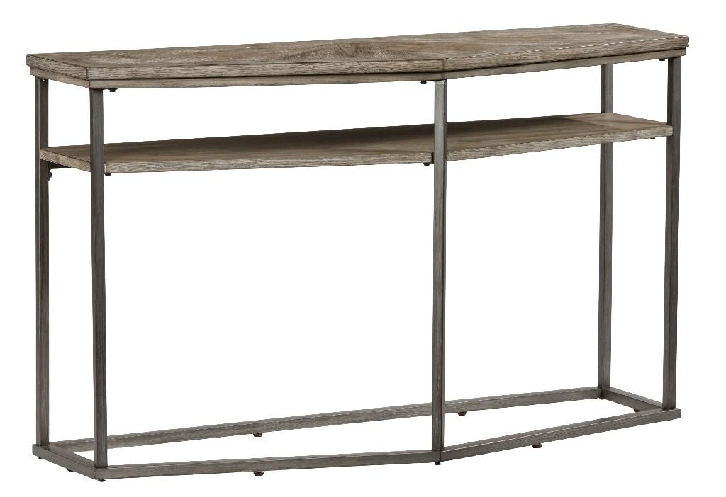 Adison Cove Sofa/Console Table in Ash Blonde - Progressive Furniture T379-05