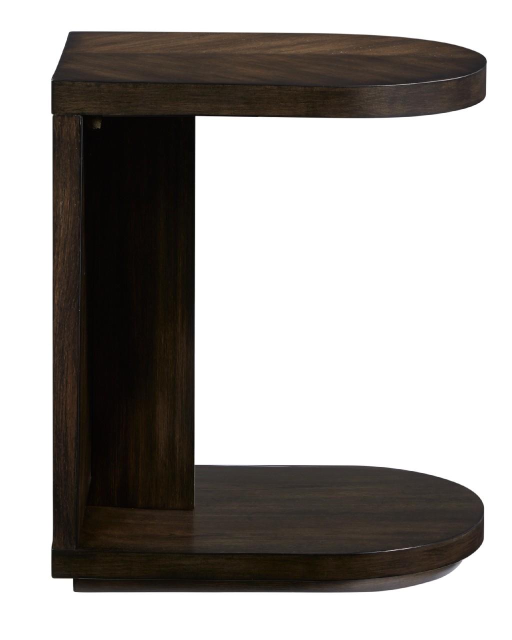 Augustine C-Table in Sepia Brown - Progressive Furniture T512-29