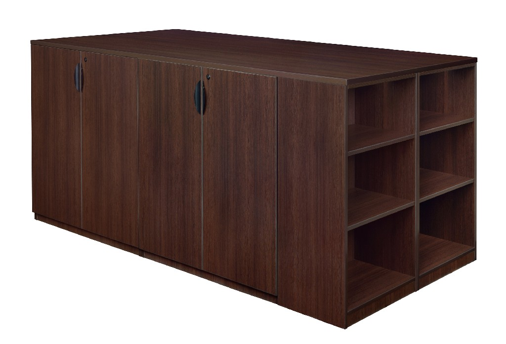 Regency Stand Up Storage Cabinet Lateral File Quad Bookcase End Java