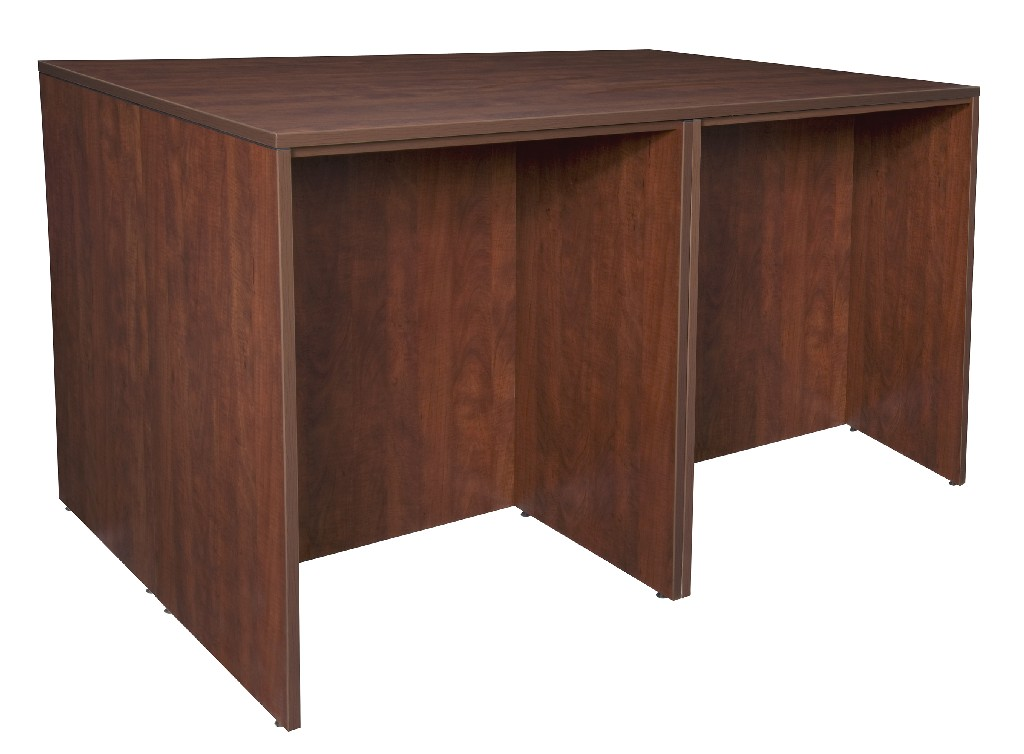 Regency Stand Up Desk Storage Cabinet Lateral File Quad Cherry