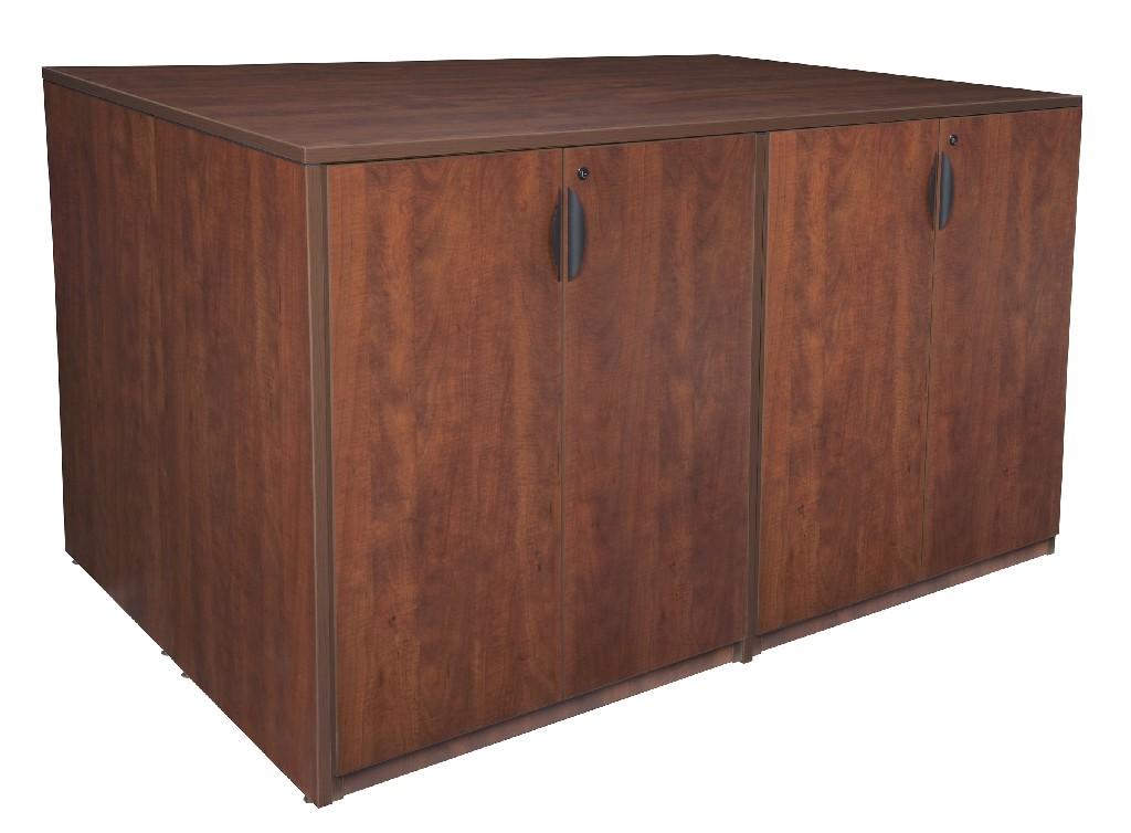 Regency Stand Up Storage Cabinet Quad Cherry