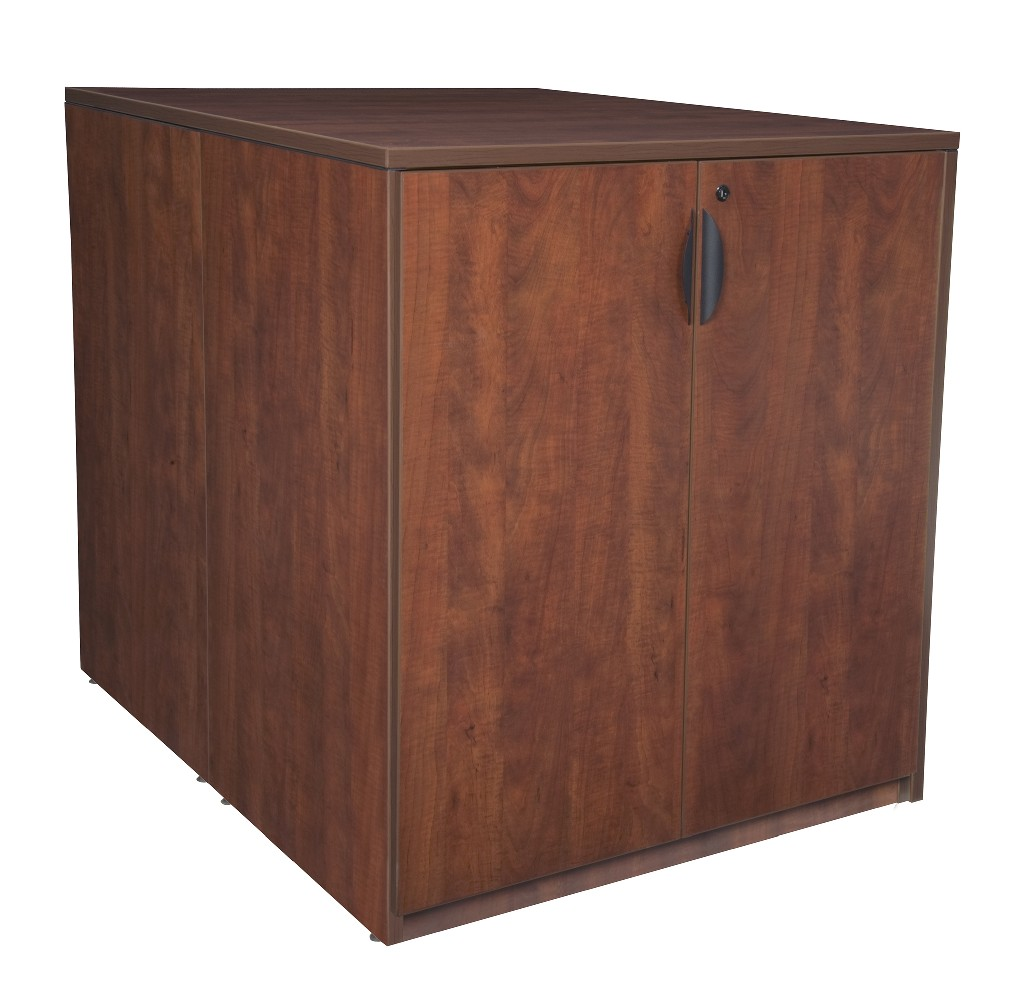 Regency Stand Up Back To Back Storage Cabinet Lateral File Cherry