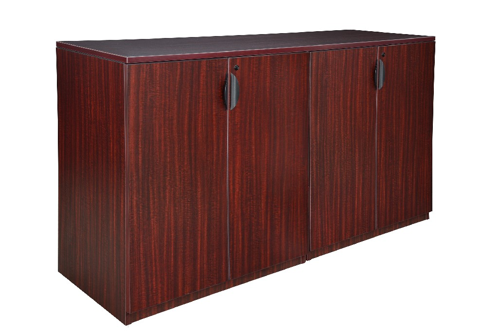 Regency Stand Up Side To Side Storage Cabinet Storage Cabinet Mahogany