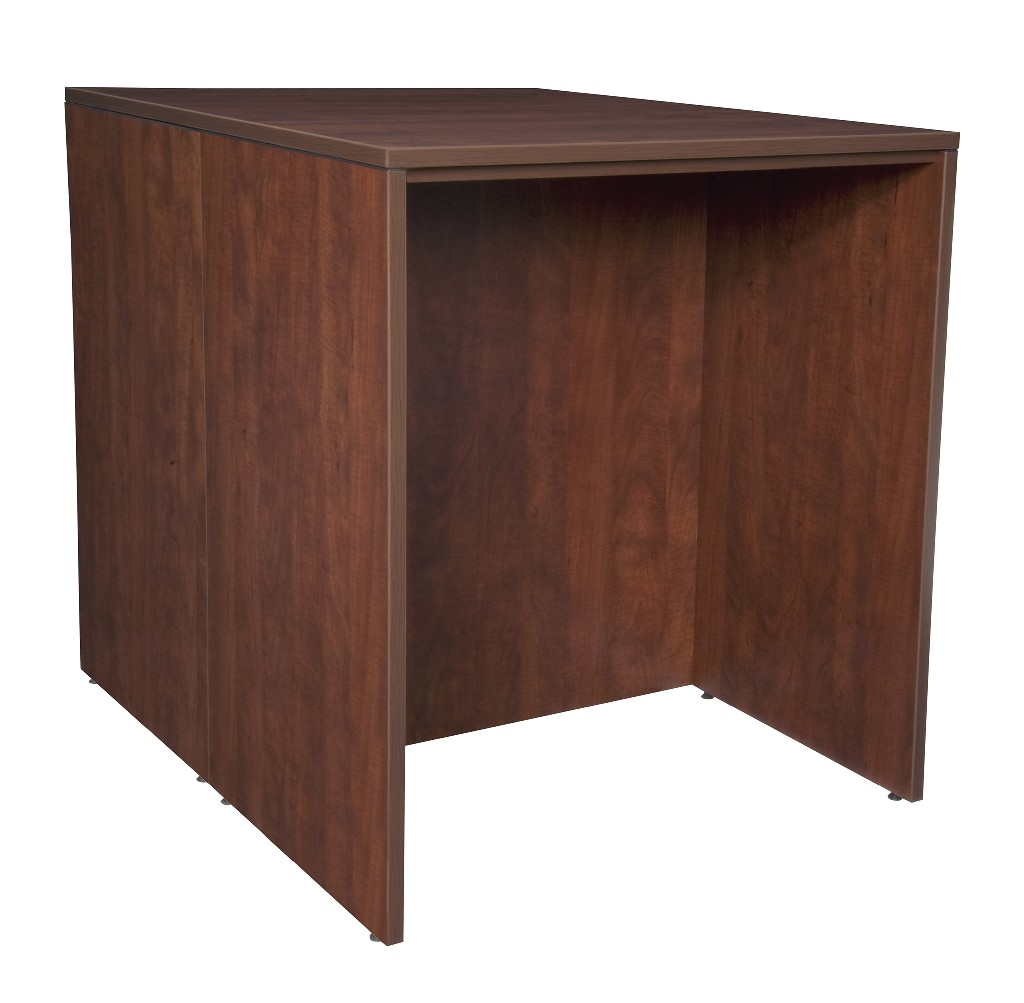 Regency Stand Up Back To Back Desk Desk Cherry
