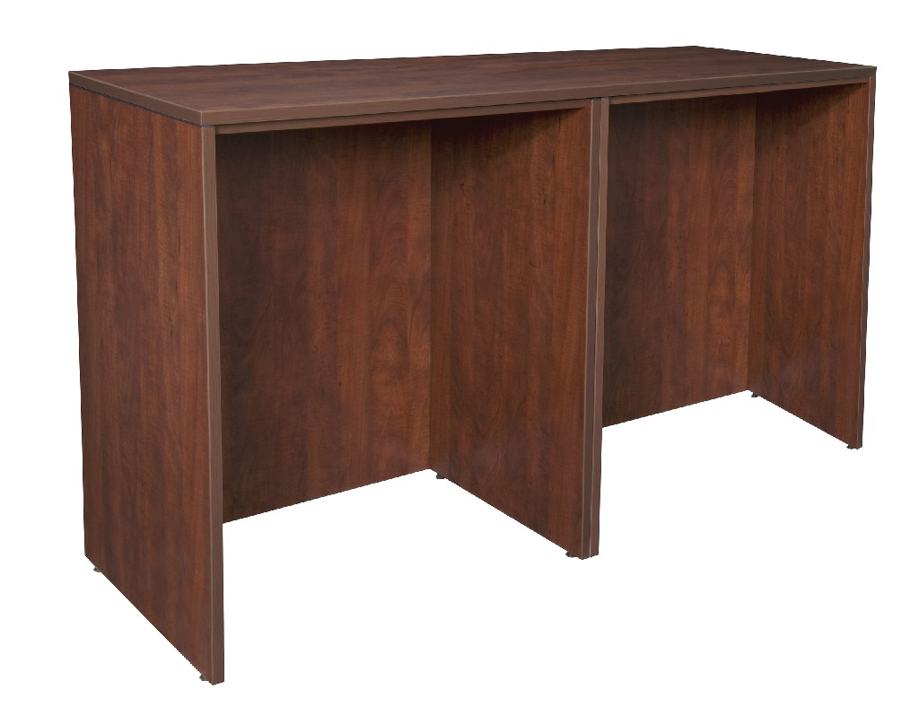 Regency Stand Up Side To Side Desk Desk Cherry