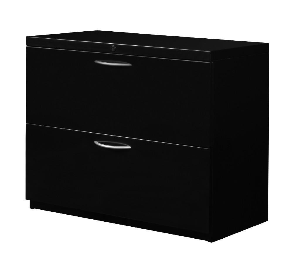 Regency Drawer Lateral File Black