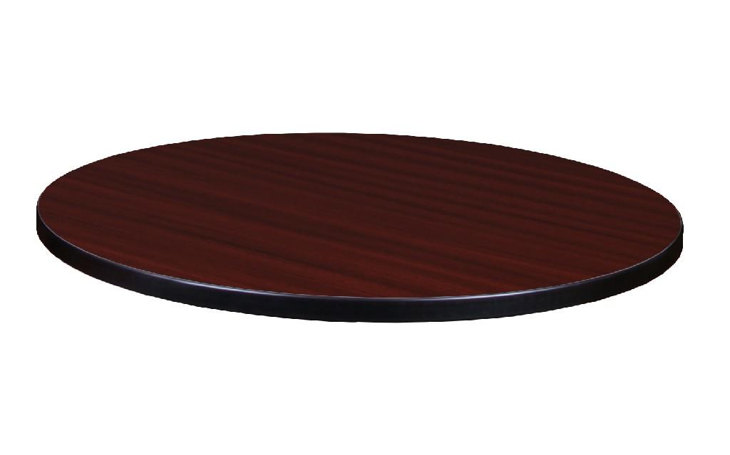 """30"""" Round Laminate Table Top in Mahogany/ Mocha Walnut - Regency TTRD30MHMW"""