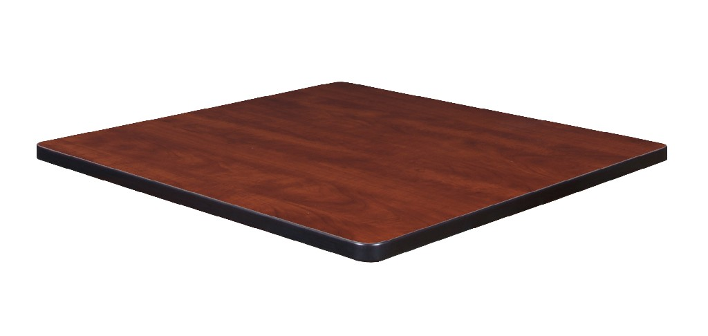 "30"" Square Laminate Table Top in Cherry/ Maple - Regency TTSQ3030CHPL"