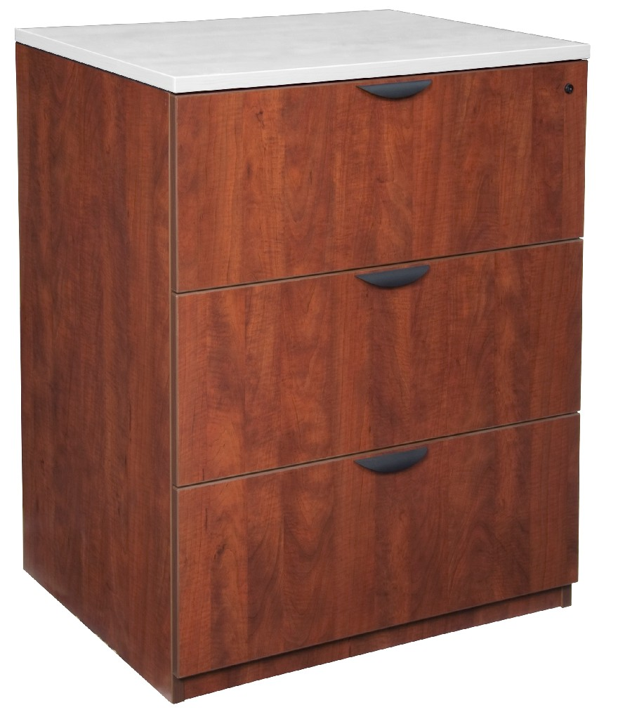 Regency Stand Up Lateral File Cherry