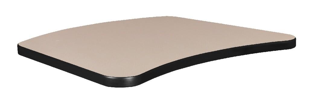 "26"" x 20"" Standard Brody Table Top in Beige/Grey - Regency TTRC2620BEGY"