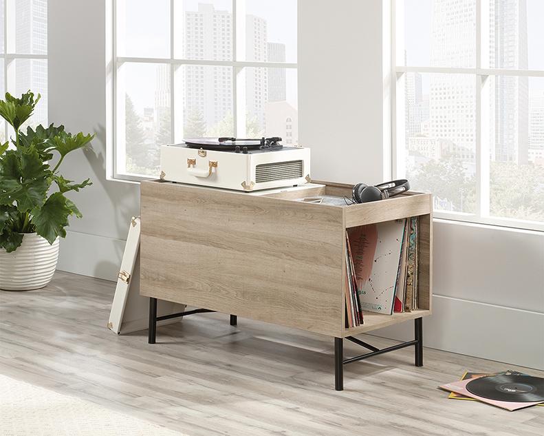 Anda Norr Multi-purpose Cabinet in Sky Oak - Sauder 422070