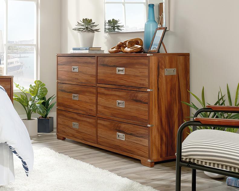 Vista Key 6 Drawer Dresser - Sauder 422462 Image