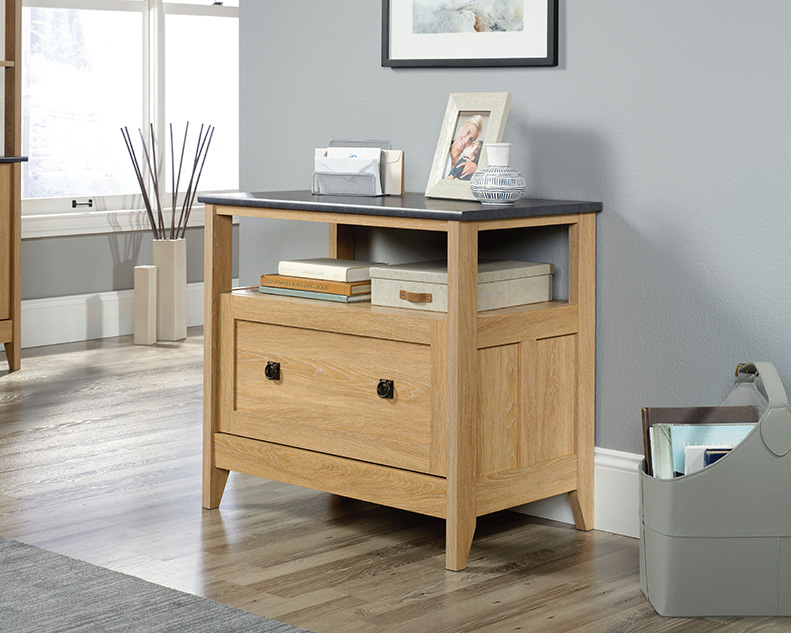 August Hill Lateral File in Dover Oak - Sauder 426133