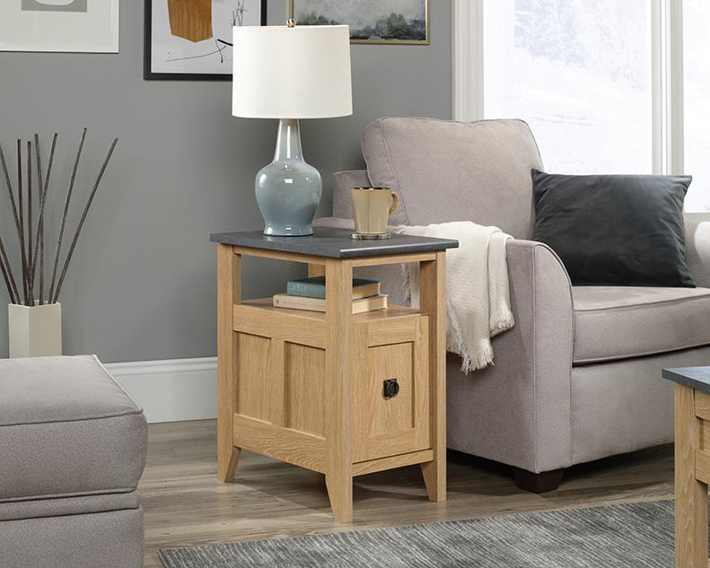 August Hill Side Table in Dover Oak - Sauder 426137