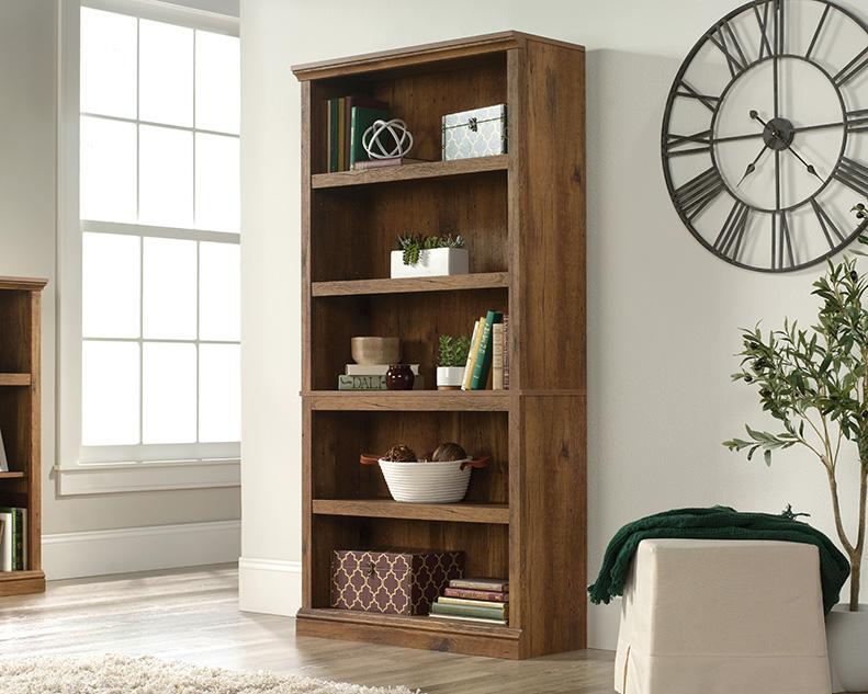 5 Shelf Bookcase in Vintage Oak - Sauder 426421