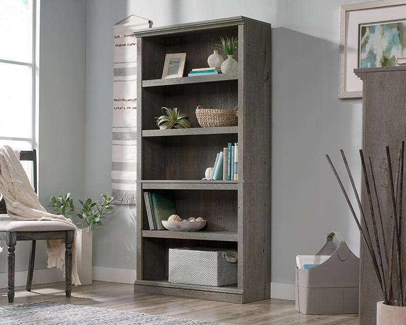 5 Shelf Bookcase in Mystic Oak - Sauder 426422