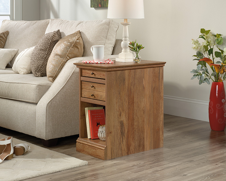 Barrister Lane Chair Side Table in Sindoori Mango - Sauder 426628