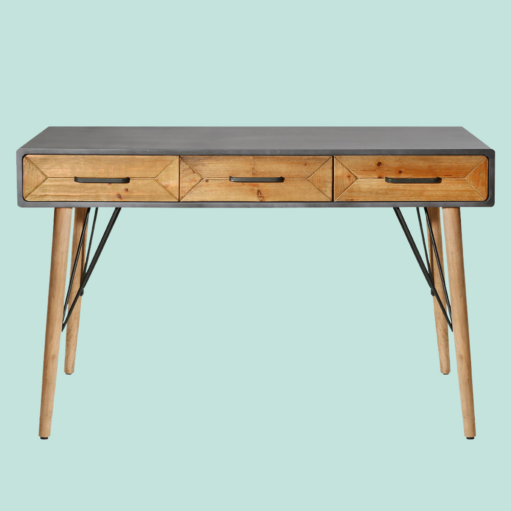 Console table with three drawers - Teton Home AF-130