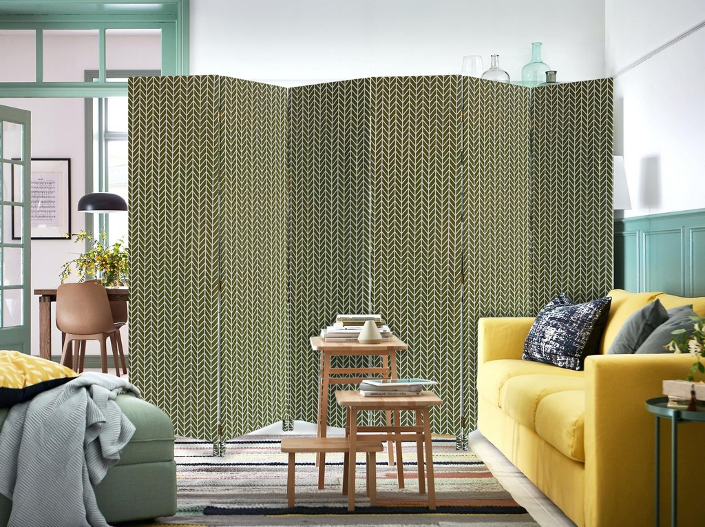 3 Panel Fabric Oliver Screen - Screen Gems SG-381