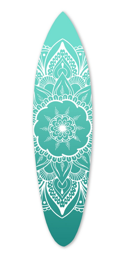 "76"" x 18"" Screen Gems Serenity Surfboard Wall Art SGW91908"