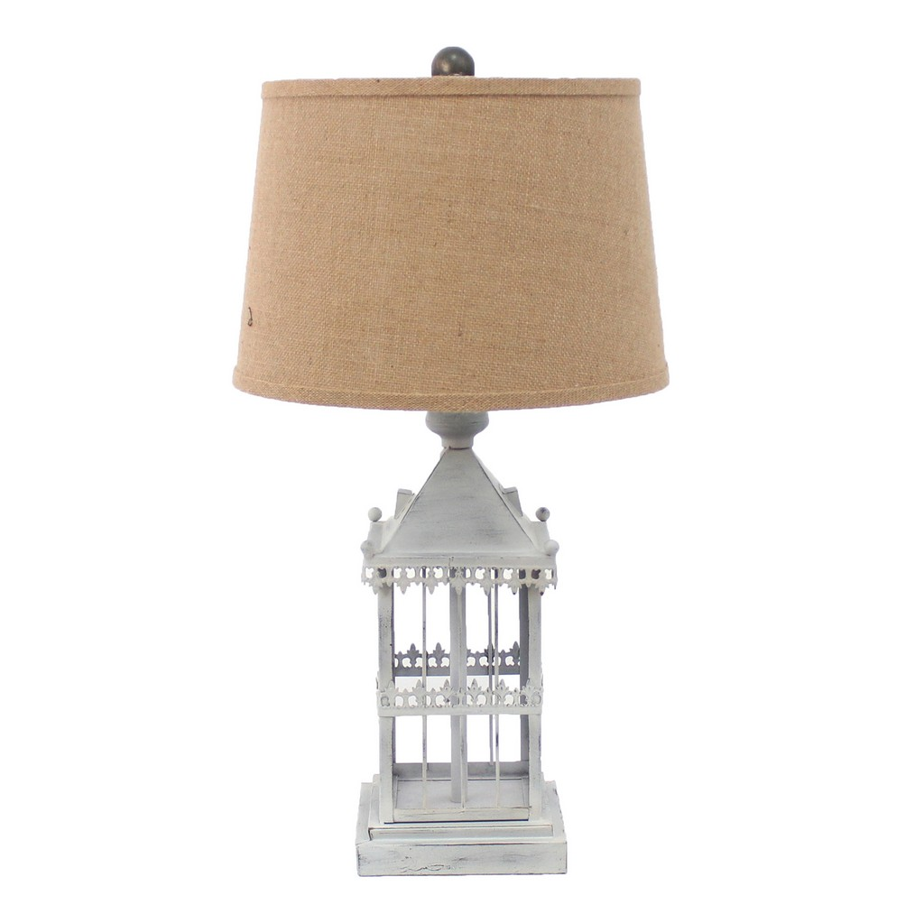 Country Cottage Castle Table Lamp - Teton Home TL-024
