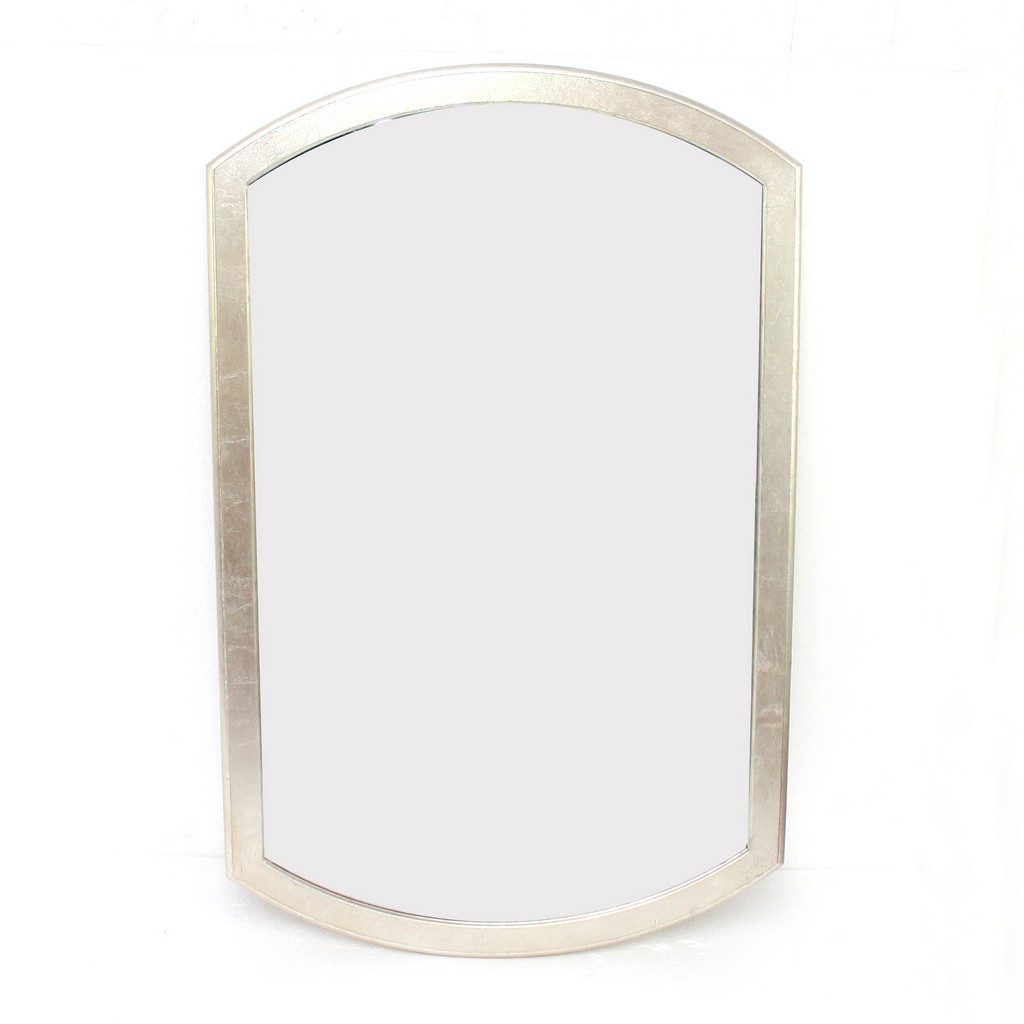 Contemporary Minimalist Dressing Mirror with Gold Frame - Teton Home WD-148