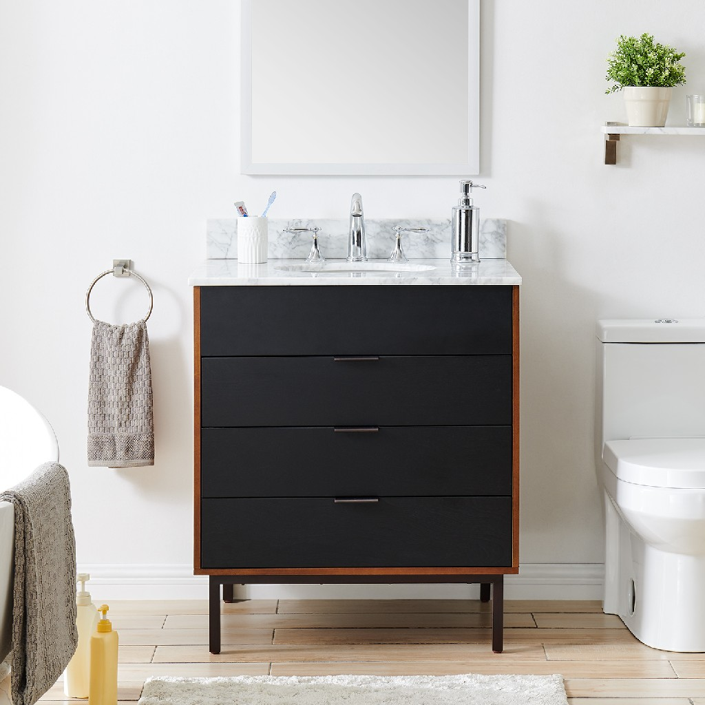 Click here for Holly Martin Marble Top Bath Vanity