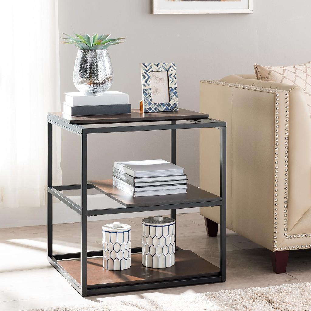Decklan Sliding Shelf End Table - Holly & Martin CK4392