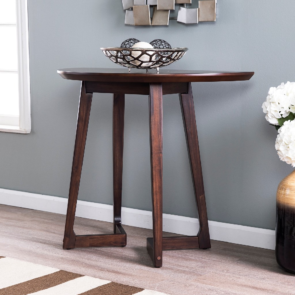 Meckland Midcentury Modern Demilune Console Table - Holly & Martin CK8673